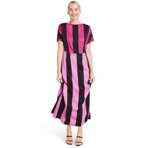NWT Christopher John Rogers x Target Pink Striped